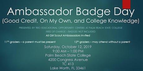 Ambassador Badge Day 2019 tickets