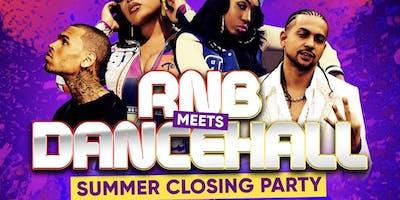 RnB Meets Dancehall Summer Closing Party