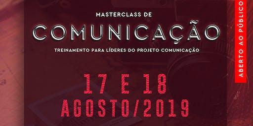Master Class Comunicação