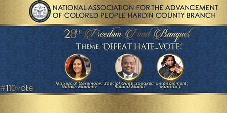 NAACP Hardin County Branch 28th Annual  Freedom Fund Banquet tickets