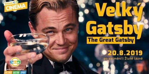 Letní kino Yellow Cinema - Velký Gatsby
