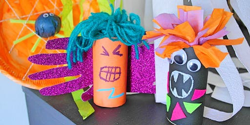 Kids SPOOKY Halloween Craft (pm)