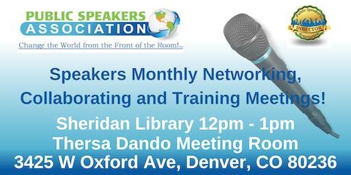 Denver Area Public Speakers Association Chapter Meeting