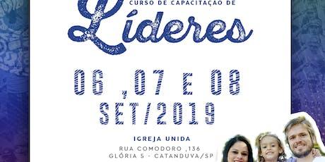 CCLJ - Curso de Capacitação de Líderes JUAD em Catanduva/SP ingressos