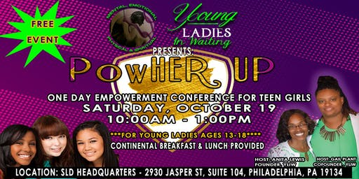 PowHer UP - Young Ladies in Waiting Annual Conference
