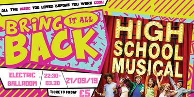 High School Musical Party! London - Electric Ballroom