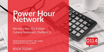 The Power Hour Network: Know Your Numbers. Key ingredients to grow business