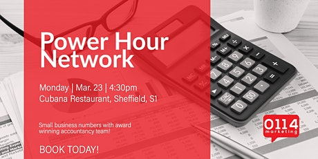The Power Hour Network: Know Your Numbers. Key ingredients to grow business tickets