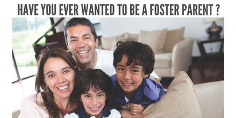 Free info session on becoming a Foster Parent tickets