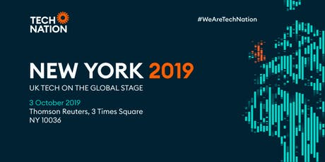 Tech Nation New York Launch 2019 tickets