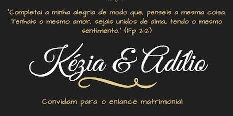 Adílio Corrêa & Kezia Souza ingressos