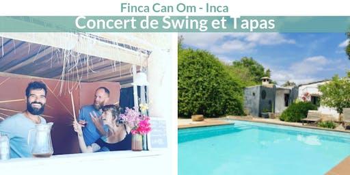 Concert de Swing et Tapas - Finca Can Om