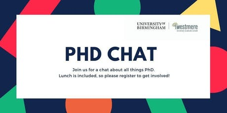 PhD Chat: Working productively tickets