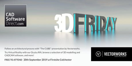 CAD Software Direct - 3D Friday with Vectorworks UK tickets