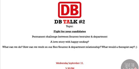 DB TALK#2 tickets