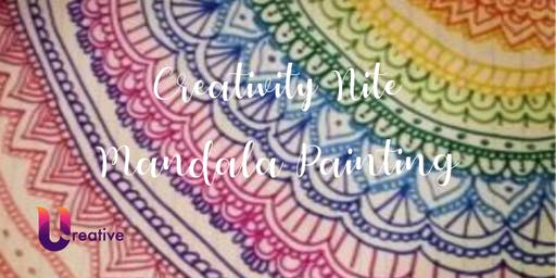 Creativity Nite - Mandala Painting
