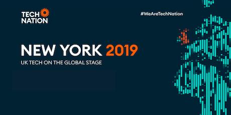 Meet the Tech Nation Team: New York 2019 tickets