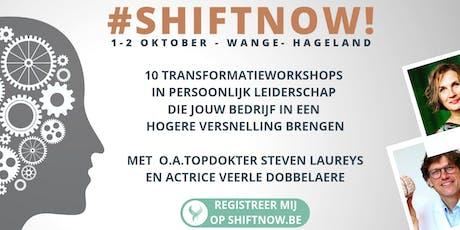 SHIFTNOW tickets