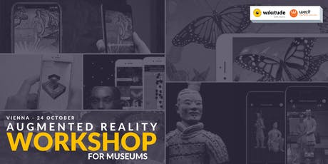 Digital Engagement workshop: Connecting museums and cultural heritage to visitors with augmented reality Tickets