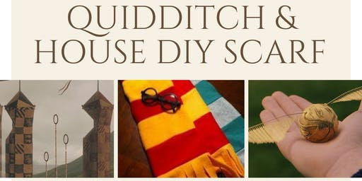 School of Magic: Quidditch & DIY House Scarf