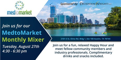 MedtoMarket Monthly Mixer tickets
