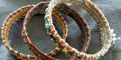 Pine Needle Bracelet Class
