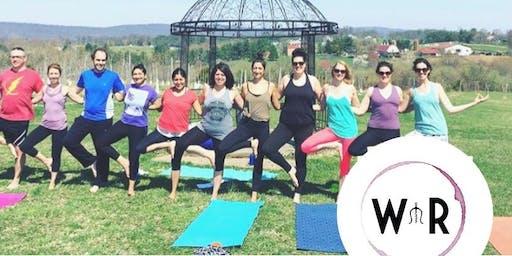 Yoga in the Vines- September