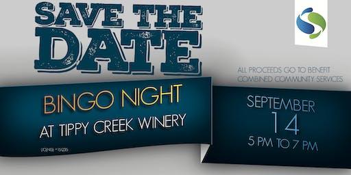 BINGO Night at Tippy Creek Winery