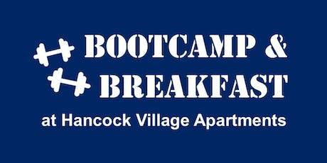 Breakfast & Bootcamp tickets