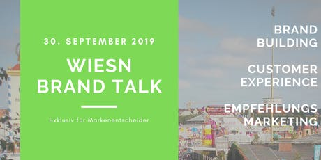 Wiesn Brand Talk Tickets