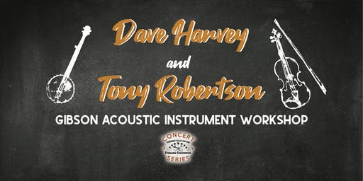 Dave Harvey & Tony Robertson - Tennessee Valley Old Time Fiddlers Concert