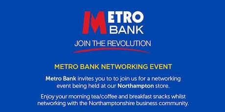 Metro Bank Networking Breakfast tickets