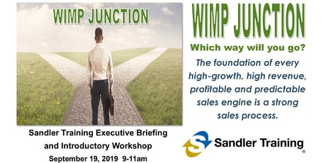 WIMP JUNCTION:  Which way will you go? tickets