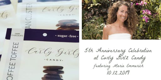 5th Anniversary Celebration at Curly Girlz Candy