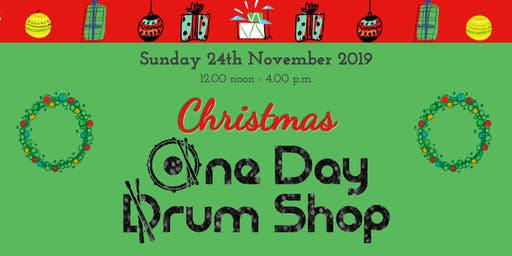 Christmas One Day Drum Shop