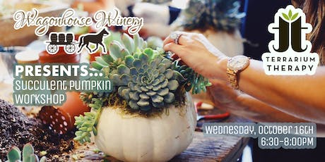 Pumpkin Succulent Workshop at Wagonhouse Winery tickets