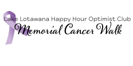 Happy Hour Optimist Club Memorial Cancer Walk
