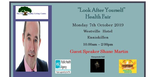 Health Fair with Guest Speaker Shane Martin - Building Resilience