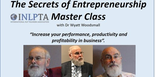 The Secrets of Entrepreneurship Masterclass