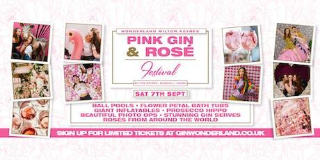 Pink Gin Festival and Rose Wonderland - Milton Keynes tickets