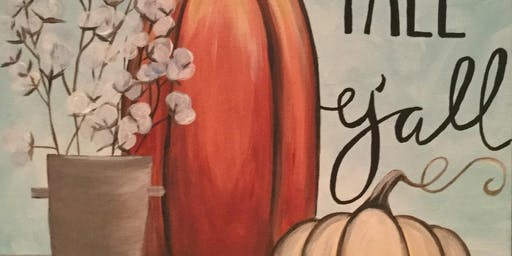 Paint with Art U - Happy Fall Y'all!