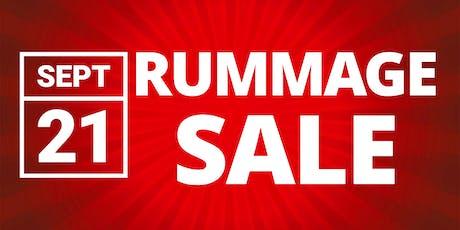 Rummage Sale tickets