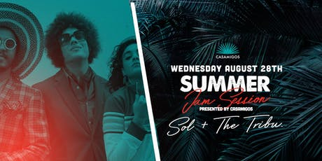 Summer Jam Session w/ Sol + The Tribu at Bodega South Beach tickets