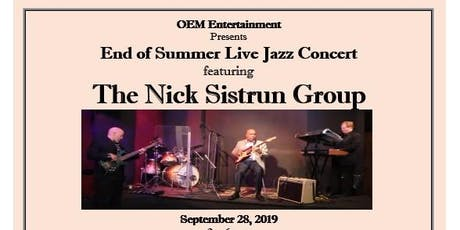 End of Summer Live Jazz Concert tickets