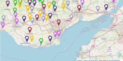 Understanding Welsh Places Testing Workshop/ Gweithdy Profi Deall Lleoedd Cymru - Cardiff/ Caerdydd
