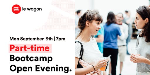 Part Time Bootcamp - Open Evening