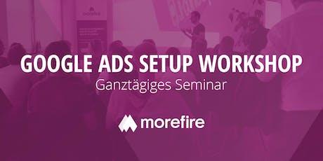 Der Google Ads Setup Workshop / 30. Januar 2020 Tickets