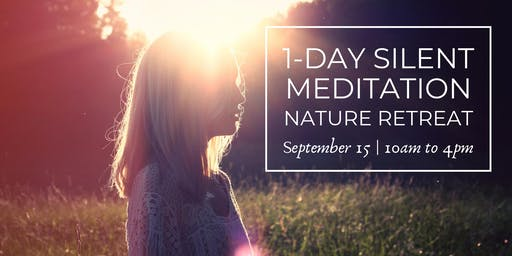 1 Day Silent Meditation Retreat with Caroline Stewart (September 15, 2019)