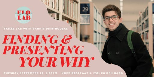 Finding and Presenting Your WHY with Yannis Dimitroulas