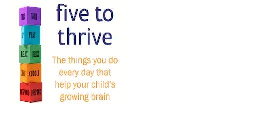Five to Thrive Workshop (4 weeks from 23 September - 14 October 2019 ) Hook